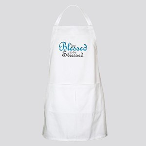 Too Blessed to be Stressed Apron