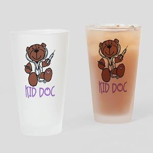 Kid Doc Drinking Glass