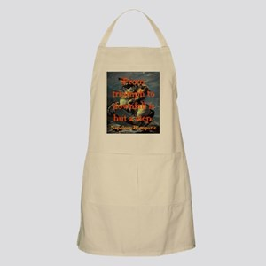 From Triumph To Downfall - Napoleon Light Apron