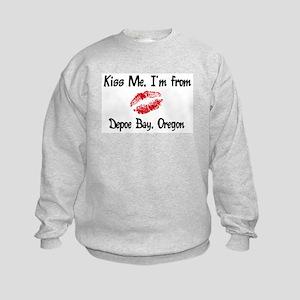 Depoe Bay - Kiss Me Kids Sweatshirt