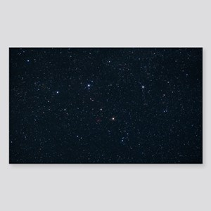 Cassiopeia constellation - Sticker (Rectangle)
