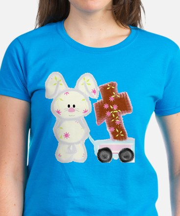 Bunny with a cross T-Shirt