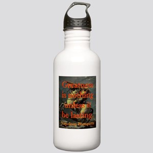 Greatness Is Nothing - Napoleon Water Bottle