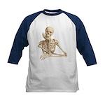 Skeleton Pal Kids Baseball Jersey for Halloween