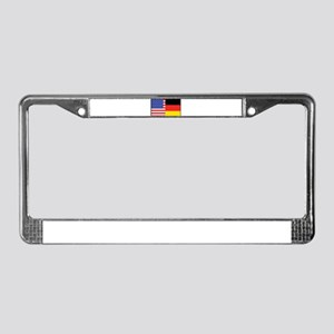 USA/Germany License Plate Frame