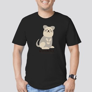 Quokka v.2 Men's Fitted T-Shirt (dark)