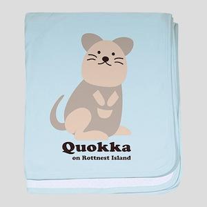 Quokka v.2 baby blanket
