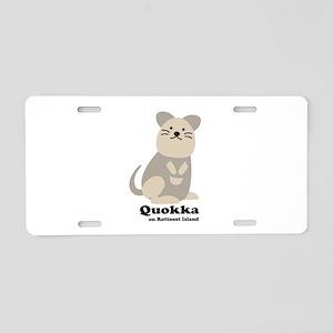 Quokka v.2 Aluminum License Plate