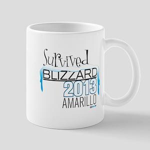 Survived Blizzard 2013 Amarillo Mug