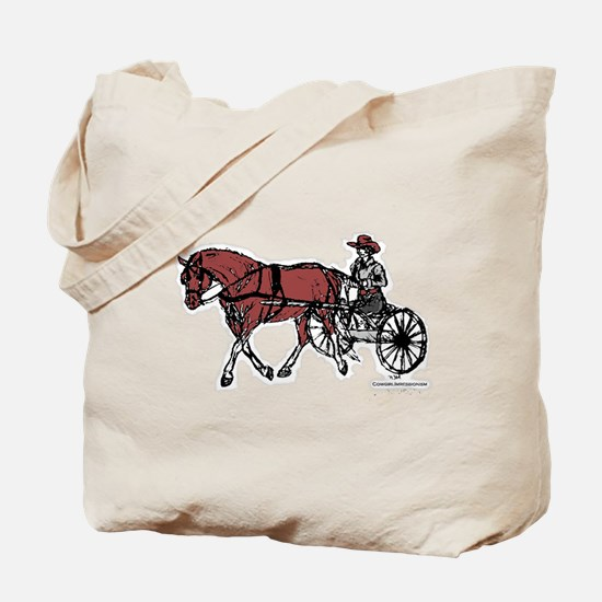 Harness Horse Tote Bag