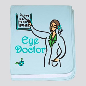 Eye Doctor baby blanket