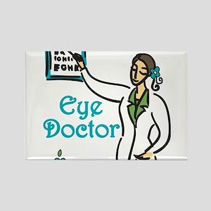 Eye Doctor Rectangle Magnet