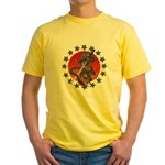 Dragon katana 2 Yellow T-Shirt