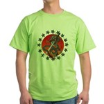 Dragon katana 2 Green T-Shirt