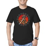 Dragon katana 2 Men's Fitted T-Shirt (dark)