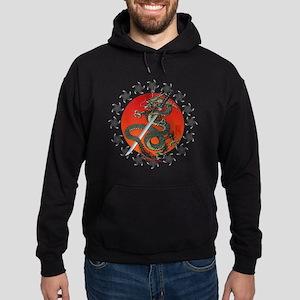 Dragon katana 2 Hoodie (dark)