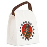 Dragon katana 2 Canvas Lunch Bag