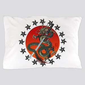 Dragon katana 2 Pillow Case