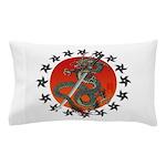 Dragon katana 2 Pillow Case