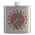 Dragon katana 2 Flask