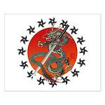 Dragon katana 2 Small Poster