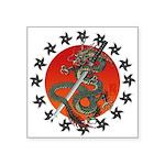 Dragon katana 2 Square Sticker 3
