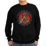 Dragon katana 2 Sweatshirt (dark)