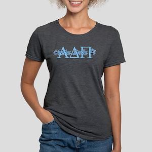 Alpha Delta Pi Script Womens Tri-blend T-Shirt