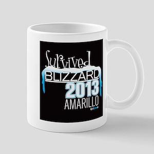 Survived Blizzard 2013 Amarillo - black Mug