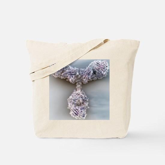 Antibody, molecular model - Tote Bag