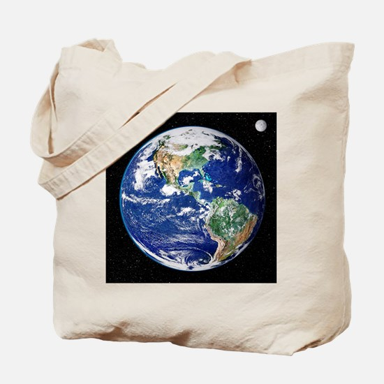 Earth from space, satellite image - Tote Bag
