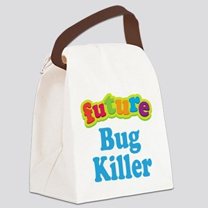 Future Bug Killer Canvas Lunch Bag