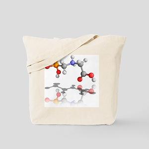 Glyphosate weedkiller molecule - Tote Bag