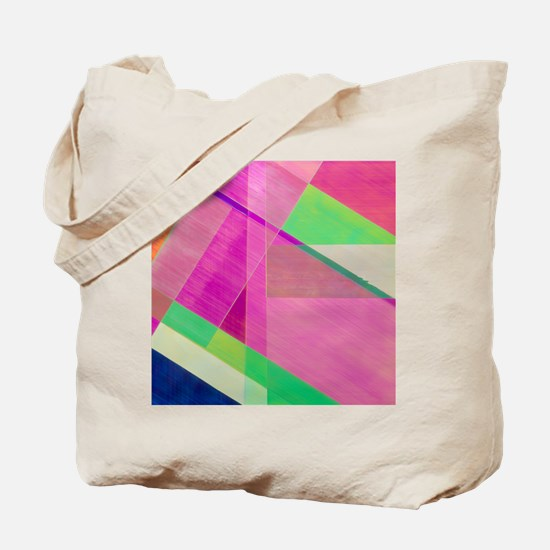 PLM of strips of cellophane - Tote Bag