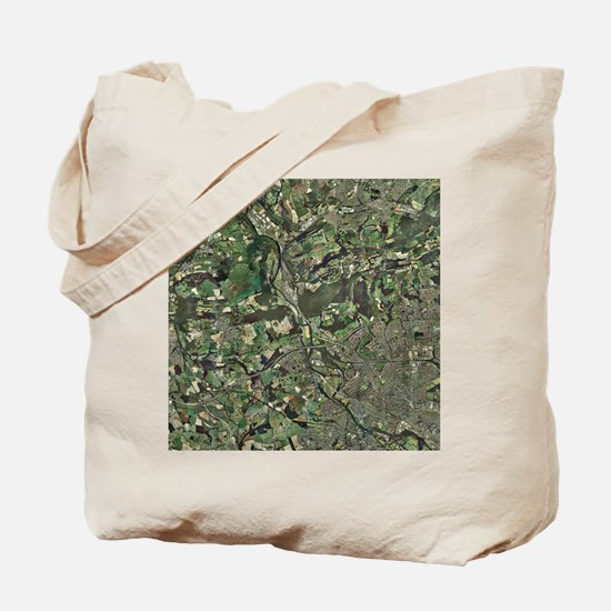 Cardiff, aerial photograph - Tote Bag