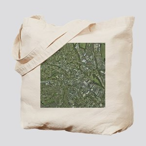 Derby, UK, aerial image - Tote Bag