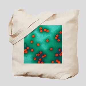 Human papillomavirus particles, TEM - Tote Bag