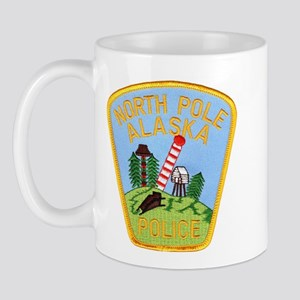 North Pole Police Mug