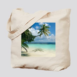 Tropical beach - Tote Bag