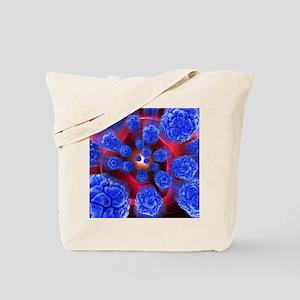 Viral infection, conceptual artwork - Tote Bag