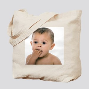 Teething baby girl - Tote Bag
