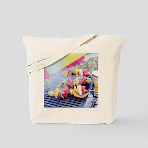 Barbecuing vegetables - Tote Bag