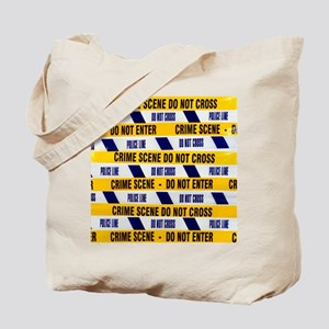 Crime scene tape - Tote Bag