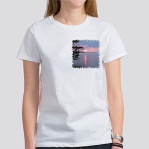 Sunset Lake Superior Women's T-Shirt