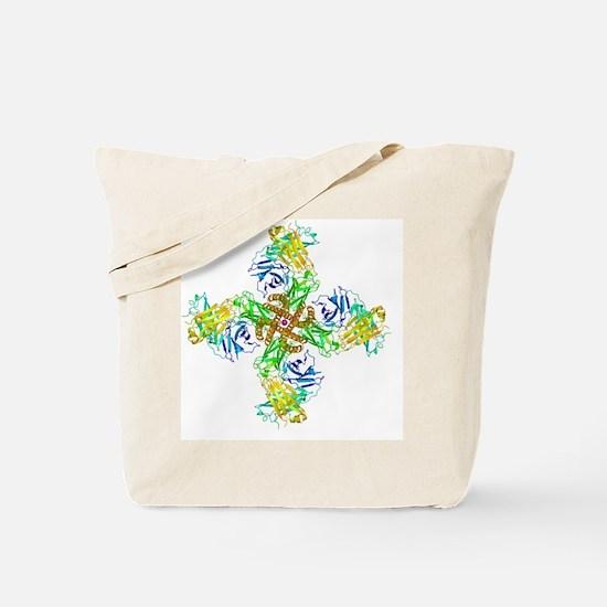 Potassium channel molecular model - Tote Bag