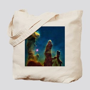 Gas pillars in the Eagle Nebula - Tote Bag