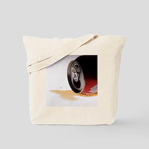Spilt cola drink - Tote Bag