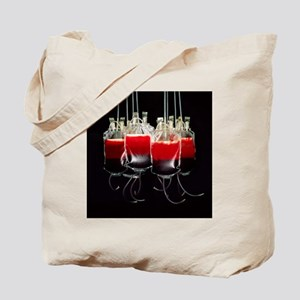 Suspended blood bags - Tote Bag