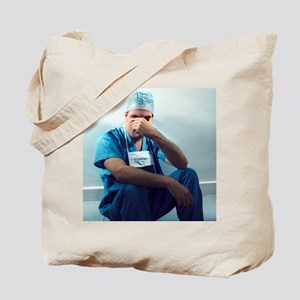 Tired surgeon - Tote Bag