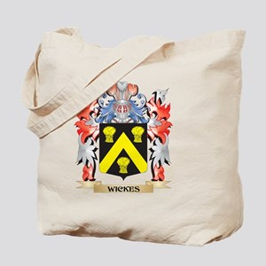Wickes Coat of Arms - Family Crest Tote Bag